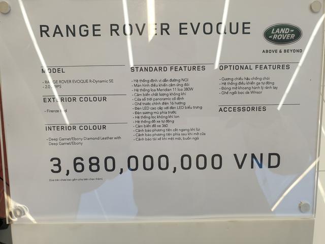 Cận cảnh Range Rover Evoque 2020 vừa về Việt Nam, giá 3,68 tỷ đồng thách thức Porsche Macan - Ảnh 10.