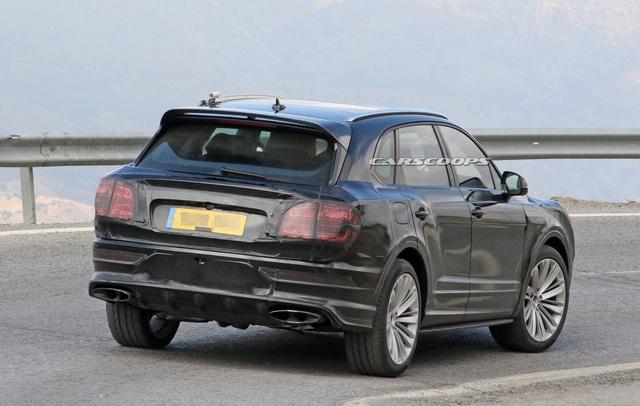 Bentley Bentayga bất ngờ đổi thiết kế theo hướng Flying Spur, chuẩn bị trình làng bản facelift - Ảnh 2.