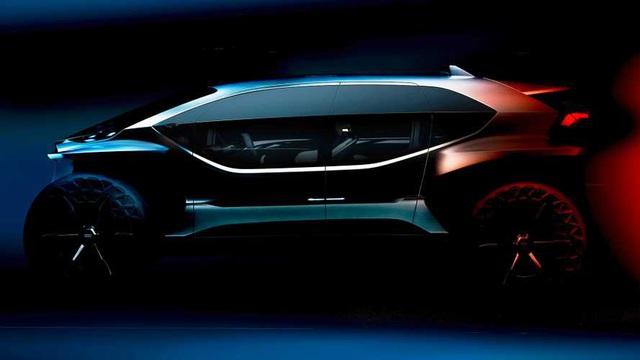 Audi úp mở xe mới với chi tiết gây tranh cãi: Bánh vươn ra ngoài đầu xe - Ảnh 1.