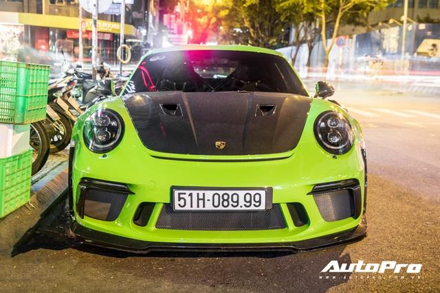 Porsche 911 GT3 RS xanh lá độc nhất Việt Nam đã ra biển số nhưng ý nghĩa phía sau còn gây chú ý hơn - Ảnh 1.