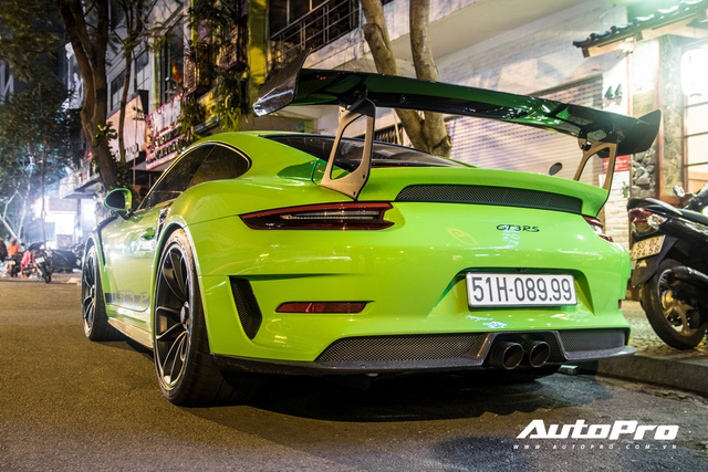Porsche 911 GT3 RS xanh lá độc nhất Việt Nam đã ra biển số nhưng ý nghĩa phía sau còn gây chú ý hơn - Ảnh 2.