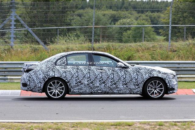 Mercedes-Benz C-Class mới lần đầu lộ nội thất: Màn hình kép, phong cách như S-Class - Ảnh 3.