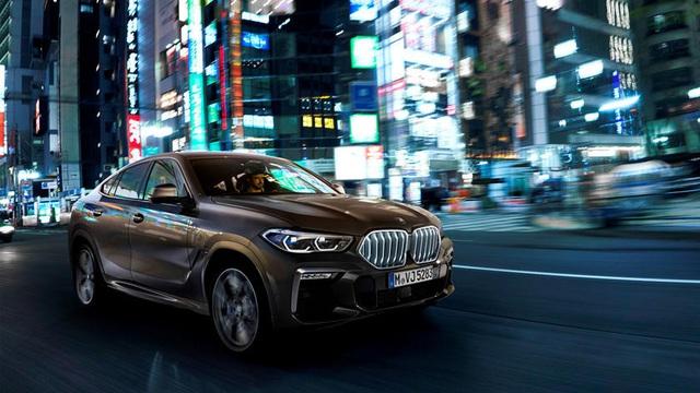 BMW 5-Series mới copy tính năng hay của X6 mà ít ai nhận ra
