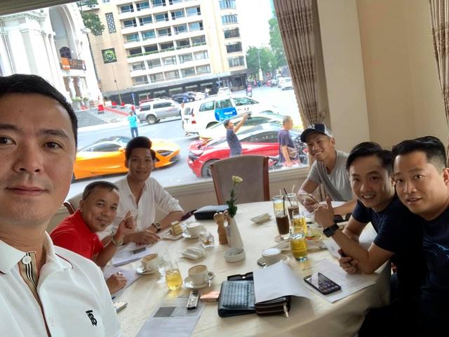 Doanh nhan Nguyen Quoc Cuong cung gioi dai gia Sai Gon gap mat ban hanh trinh sieu xe 2020