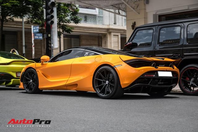 Cận cảnh bộ mâm 280 triệu đồng trên chiếc McLaren 720S của doanh nhân Nguyễn Quốc Cường
