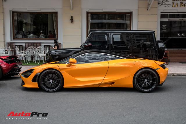 Cận cảnh bộ mâm 280 triệu đồng trên chiếc McLaren 720S của doanh nhân Nguyễn Quốc Cường - Ảnh 2.