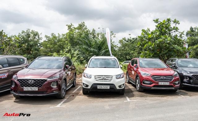 Dàn xe hơn 100 chiếc Hyundai nối đuôi nhau đi sự kiện ở Sài Gòn - Ảnh 9.