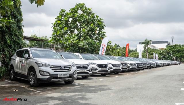 Dàn xe hơn 100 chiếc Hyundai nối đuôi nhau đi sự kiện ở Sài Gòn - Ảnh 3.