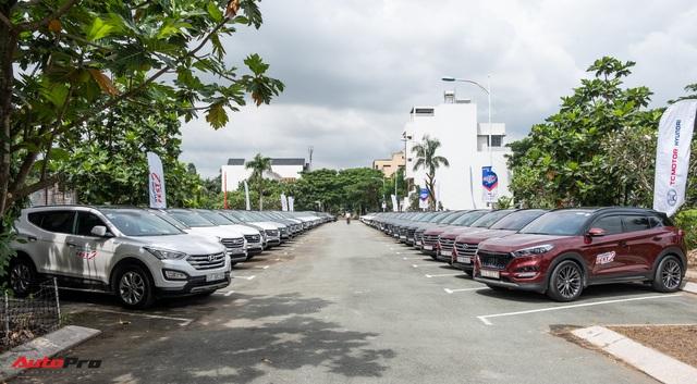 Dàn xe hơn 100 chiếc Hyundai nối đuôi nhau đi sự kiện ở Sài Gòn - Ảnh 2.