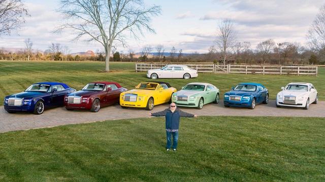 Dân chơi khét tiếng sở hữu 10 màu sơn xe Rolls-Royce đặt theo tên mình - Ảnh 1.