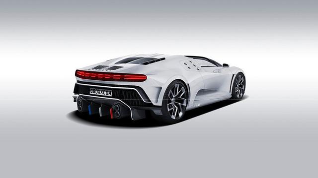 Bugatti Centodieci mui trần: Đẹp nhưng khó thành sự thật