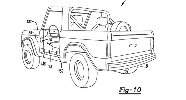 Ford Bronco - SUV mới lộ diện, xác nhận dáng vuông vức, dùng nền tảng Ranger - Ảnh 1.
