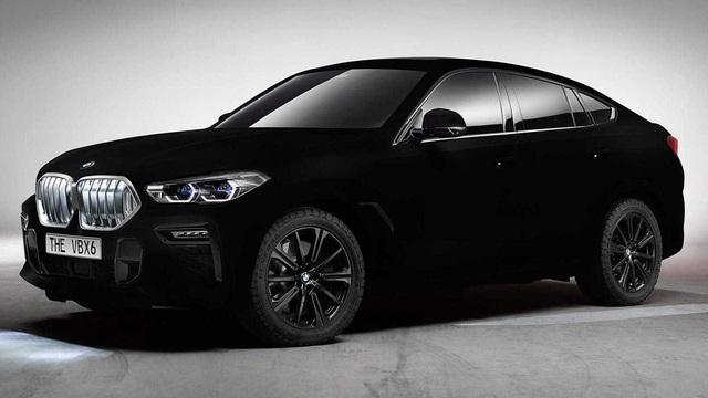 BMW X6 Vantablack: Đen tới mức... không thể đen hơn! - Ảnh 1.