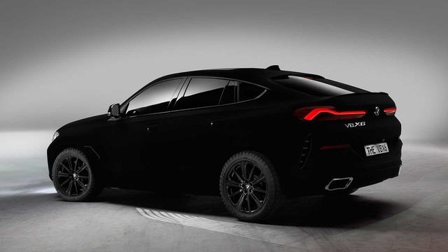 BMW X6 Vantablack: Đen tới mức... không thể đen hơn! - Ảnh 2.