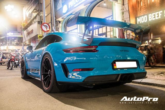 Đại gia Việt tậu pô hàng hiệu cho Porsche 911 GT3 RS Miami Blue độc nhất Việt Nam - Ảnh 3.