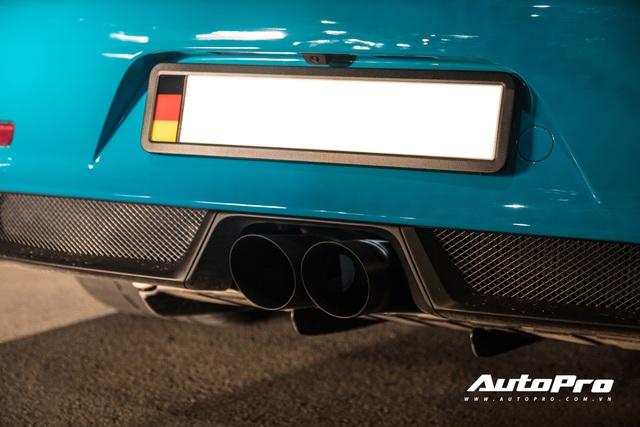 Đại gia Việt tậu pô hàng hiệu cho Porsche 911 GT3 RS Miami Blue độc nhất Việt Nam - Ảnh 2.