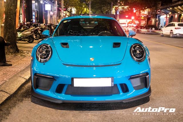 Đại gia Việt tậu pô hàng hiệu cho Porsche 911 GT3 RS Miami Blue độc nhất Việt Nam - Ảnh 4.