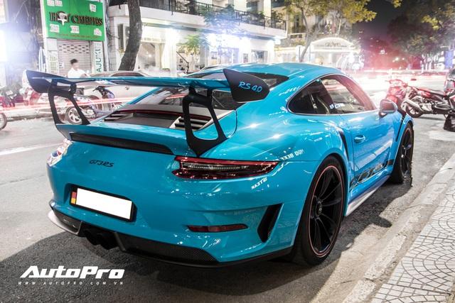 Đại gia Việt tậu pô hàng hiệu cho Porsche 911 GT3 RS Miami Blue độc nhất Việt Nam - Ảnh 9.
