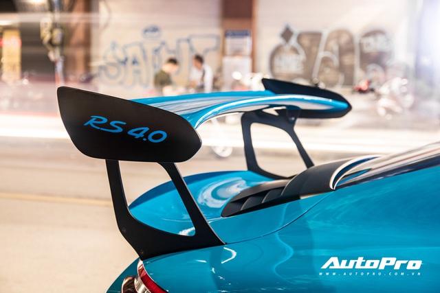 Đại gia Việt tậu pô hàng hiệu cho Porsche 911 GT3 RS Miami Blue độc nhất Việt Nam - Ảnh 8.