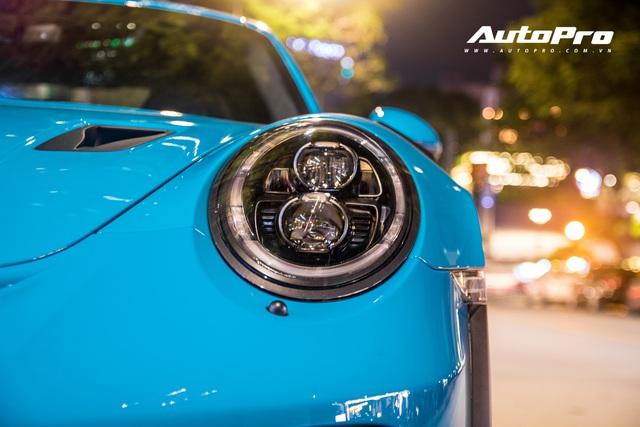 Đại gia Việt tậu pô hàng hiệu cho Porsche 911 GT3 RS Miami Blue độc nhất Việt Nam - Ảnh 7.