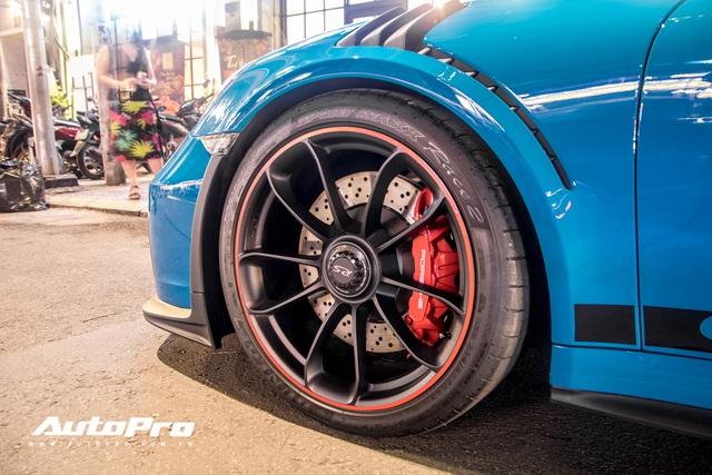 Đại gia Việt tậu pô hàng hiệu cho Porsche 911 GT3 RS Miami Blue độc nhất Việt Nam - Ảnh 5.