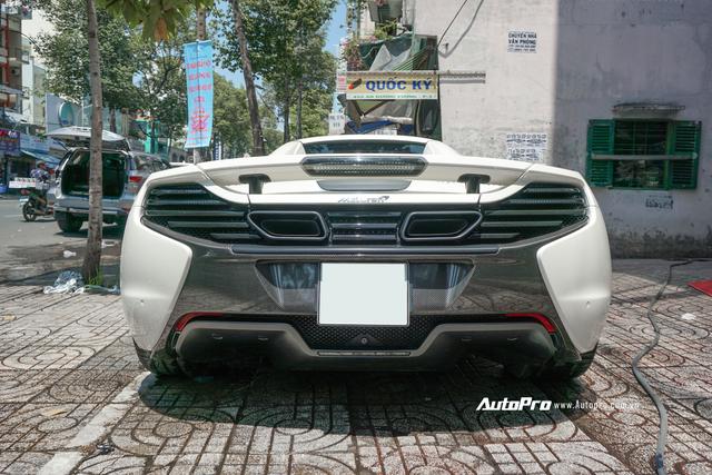 Đại gia Việt cần chi bao nhiêu để mua lại McLaren 650s Spider từng thuộc sở hữu của ông trùm cafe Trung Nguyên? - Ảnh 6.
