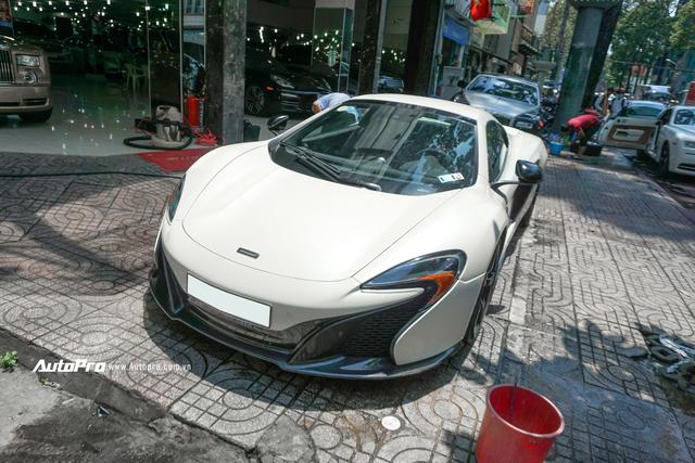 Đại gia Việt cần chi bao nhiêu để mua lại McLaren 650s Spider từng thuộc sở hữu của ông trùm cafe Trung Nguyên? - Ảnh 7.