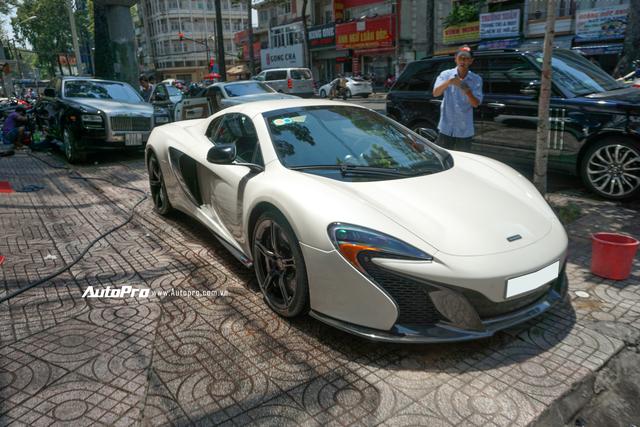 Đại gia Việt cần chi bao nhiêu để mua lại McLaren 650s Spider từng thuộc sở hữu của ông trùm cafe Trung Nguyên? - Ảnh 1.