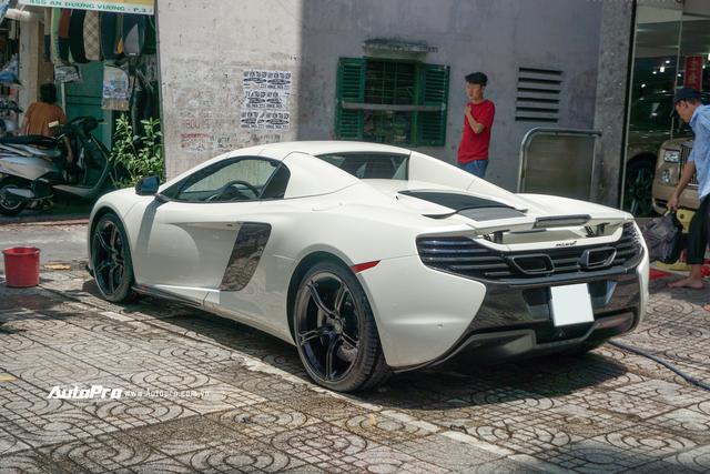 Đại gia Việt cần chi bao nhiêu để mua lại McLaren 650s Spider từng thuộc sở hữu của ông trùm cafe Trung Nguyên? - Ảnh 3.