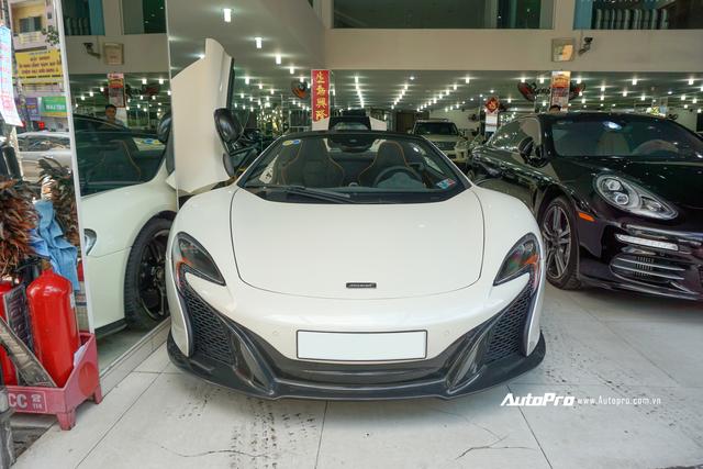 Đại gia Việt cần chi bao nhiêu để mua lại McLaren 650s Spider từng thuộc sở hữu của ông trùm cafe Trung Nguyên? - Ảnh 2.