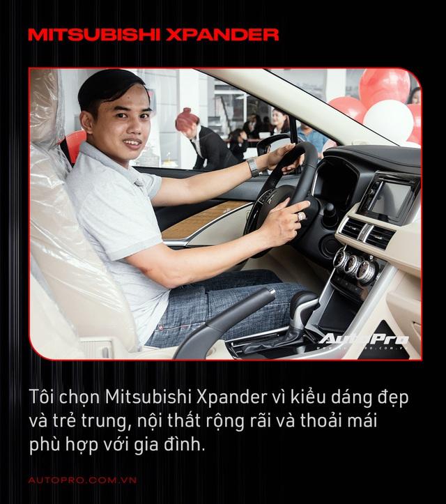 Người Việt mua Mitsubishi Xpander thứ 10.000: 'Thông minh là mua xe phục vụ mình chứ không phải lo giữ giá hay không' - Ảnh 1.