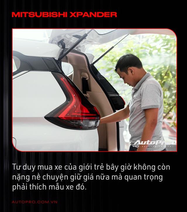 Người Việt mua Mitsubishi Xpander thứ 10.000: 'Thông minh là mua xe phục vụ mình chứ không phải lo giữ giá hay không' - Ảnh 2.