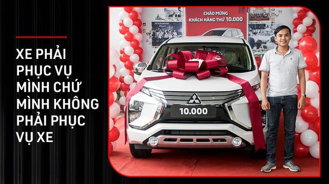 Người Việt mua Mitsubishi Xpander thứ 10.000: 'Thông minh là mua xe phục vụ mình chứ không phải lo giữ giá hay không'