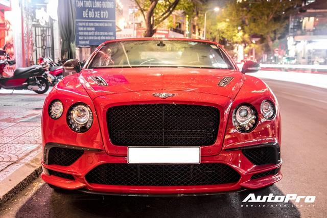 Bất ngờ xuất hiện phiên bản giới hạn Bentley Continental SuperSports Convertible đầu tiên tại Việt Nam - Ảnh 2.