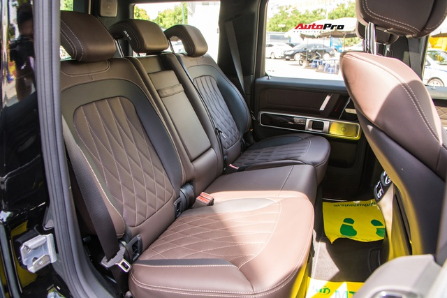 Khám phá Mercedes-AMG G63 bản thường đầu tiên Việt Nam: Có gì khác sau mức giá rẻ hơn 500 triệu đồng so với Edition 1? - Ảnh 19.