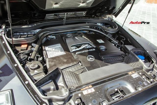 Khám phá Mercedes-AMG G63 bản thường đầu tiên Việt Nam: Có gì khác sau mức giá rẻ hơn 500 triệu đồng so với Edition 1? - Ảnh 4.
