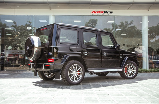 Khám phá Mercedes-AMG G63 bản thường đầu tiên Việt Nam: Có gì khác sau mức giá rẻ hơn 500 triệu đồng so với Edition 1? - Ảnh 6.