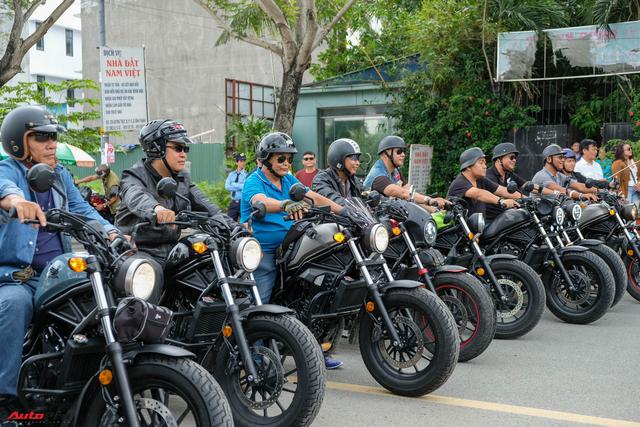 Dàn mô tô gần 100 chiếc trị giá hàng chục tỷ đồng tụ họp tại Sài Gòn - Ảnh 1.
