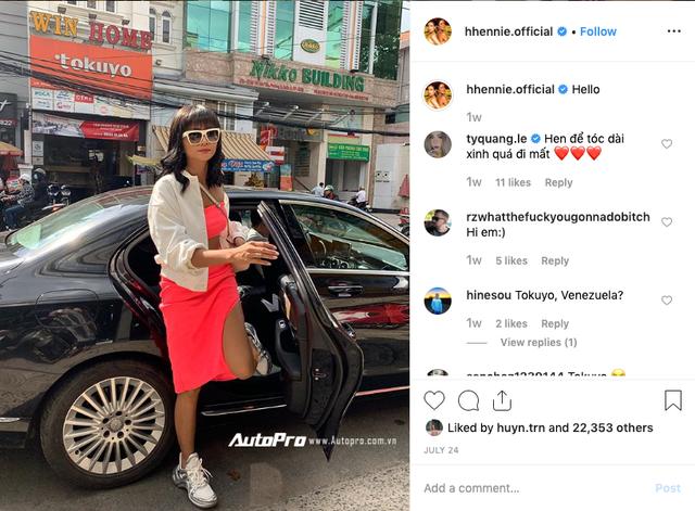 Bị đâm vỡ đèn hậu Mercedes-Benz, Hoa hậu Hhen niê vẫn vui vẻ: Bị hun một cái nhẹ - Ảnh 3.
