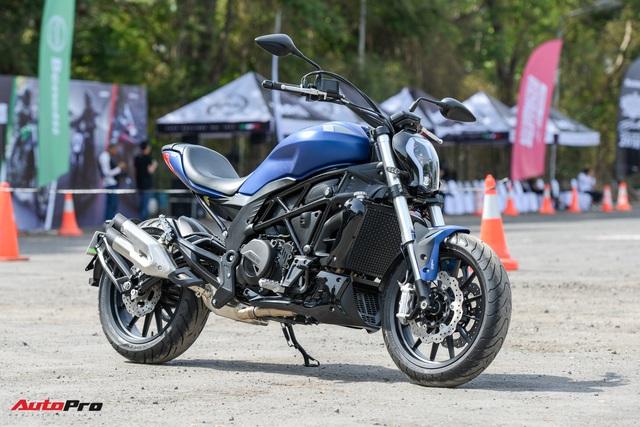 Mô tô nhái kiểu dáng của Ducati XDiavel về Việt Nam, chốt giá 166 triệu đồng - Ảnh 1.