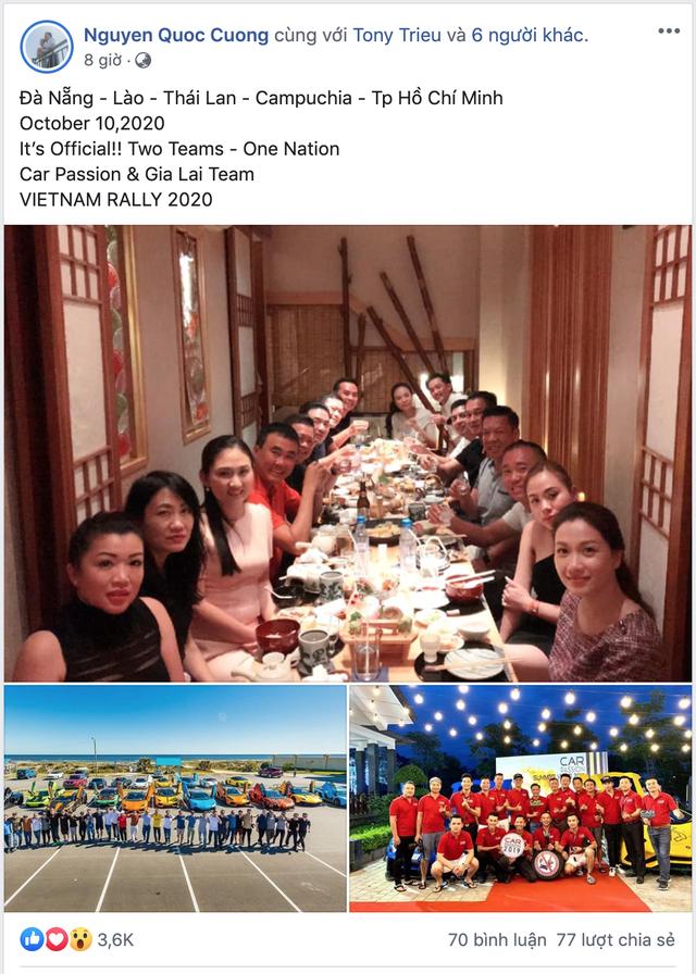 Nguyễn Quốc Cường tiết lộ hành trình siêu xe mới xuyên Đông Nam Á với quy mô 'khủng': Quy tụ cả Gia Lai Team và Car Passion - Ảnh 1.