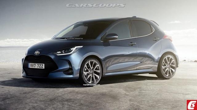 Toyota Yaris 2020 dần lộ diện: Thay máu để lái hấp dẫn hơn, có trang bị như RAV4