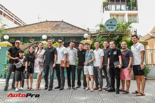 Minh nhựa và dàn siêu xe Car Passion tụ tập với Gia Lai Team sau đám cưới Cường Đô-la - Ảnh 8.