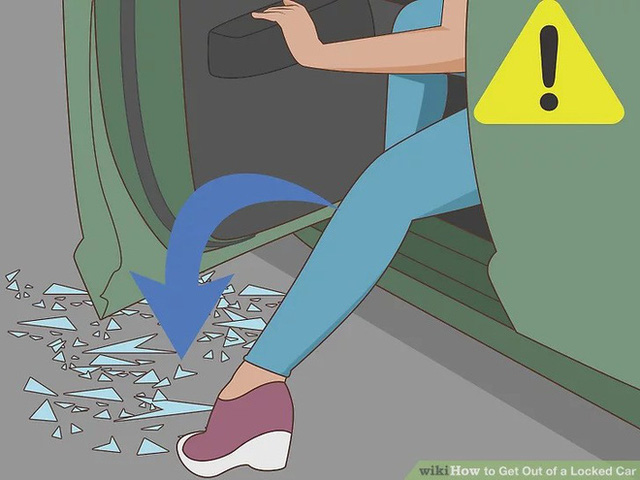 Những kỹ năng thoát hiểm khi bị nhốt trong ô tô mà mọi phụ huynh phải dạy con thật kỹ - Ảnh 11.