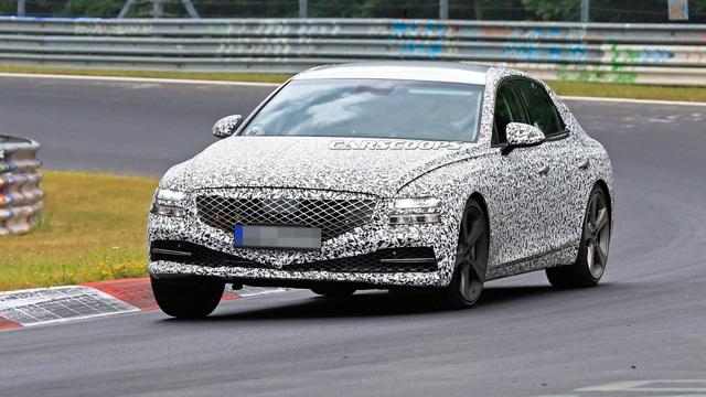 Genesis G80 2020 - Xe sang Hàn Quốc đấu Mercedes E-Class sẵn sàng ra mắt