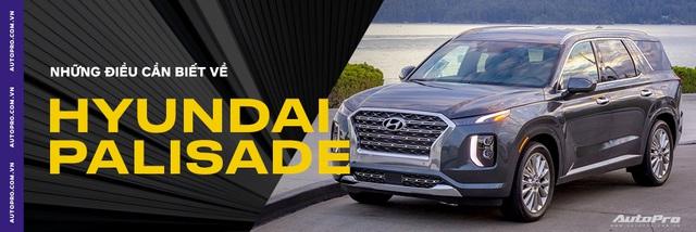 Cận cảnh ngoại thất Hyundai Palisade đầu tiên tại Việt Nam - Sẽ lắp ráp như Santa Fe? - Ảnh 7.