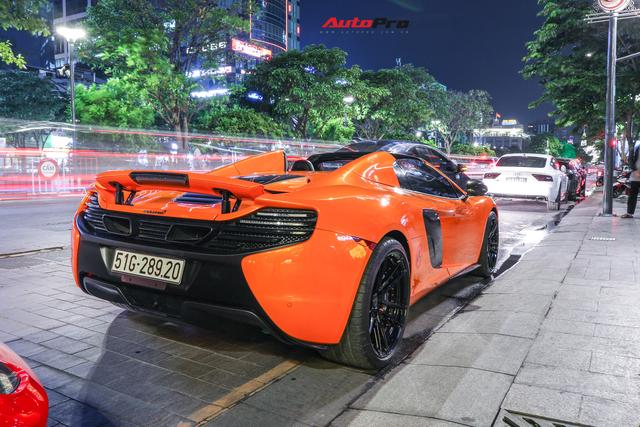 Chia tay đại gia Hà Thành, McLaren 650S Spider màu độc độ hơn 600 triệu đồng về tay dân chơi Sài Gòn - Ảnh 2.