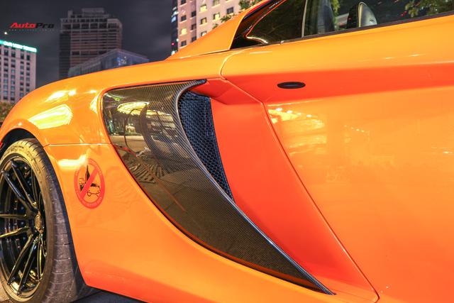 Chia tay đại gia Hà Thành, McLaren 650S Spider màu độc độ hơn 600 triệu đồng về tay dân chơi Sài Gòn - Ảnh 7.