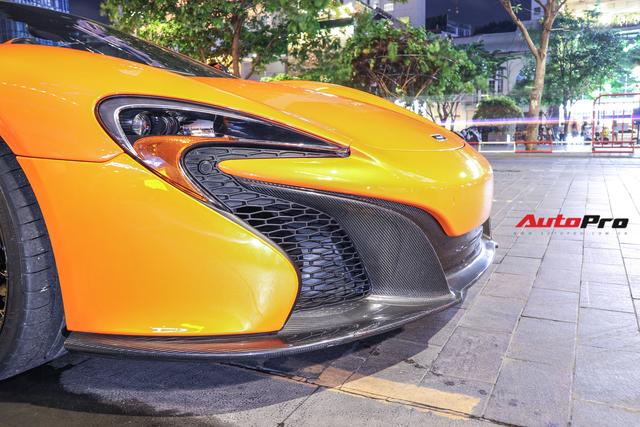 Chia tay đại gia Hà Thành, McLaren 650S Spider màu độc độ hơn 600 triệu đồng về tay dân chơi Sài Gòn - Ảnh 4.