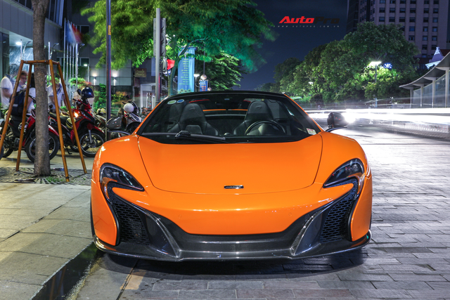 Chia tay đại gia Hà Thành, McLaren 650S Spider màu độc độ hơn 600 triệu đồng về tay dân chơi Sài Gòn - Ảnh 3.